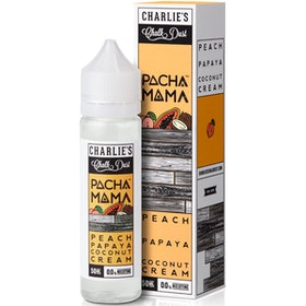 Peach, Papaya and Coconut Cream Eliquid by Pacha Mama 50ML 0MG