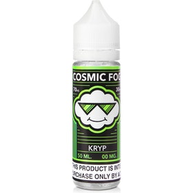 Kryptonite eLiquid from Cosmic Fog 50ML 0MG