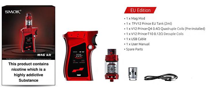 SMOK MAG 225W Start kit med TFV12 Prince