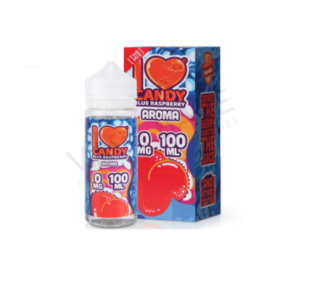 I Love Candy Blue Raspberry By Mad Hatter 100ML 0MG