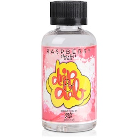 Raspberry Sherbet  by Drip & Dab  50ml 0mg Shortfill