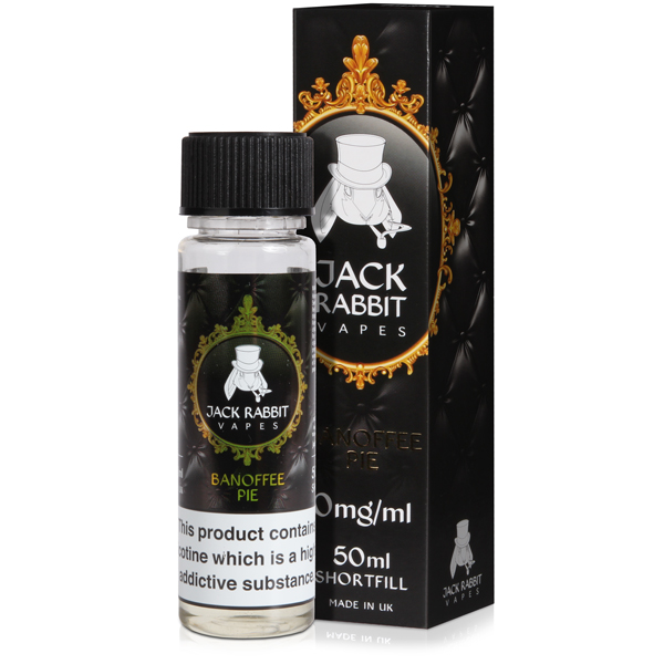 Banoffee Pie E-Liquid by Jack Rabbit 50ml 0mg