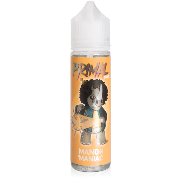 Mango Maniac eliquid by Primal Eliquids 50ml 0mg