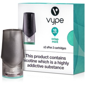 Crisp Mint ePen 3 Prefilled Vape Pod by Vype 2ml