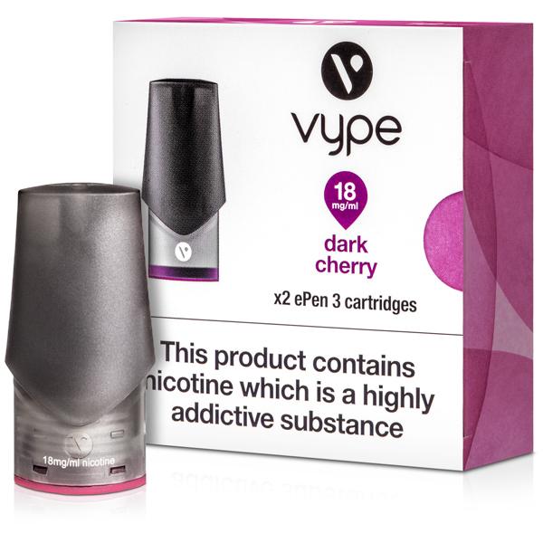 Dark Cherry ePen 3 Prefilled Vape Pod by Vype 2ml