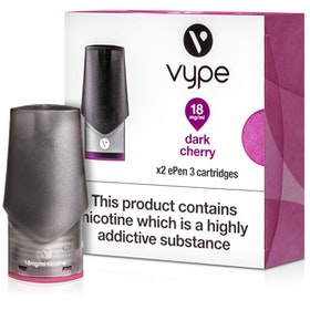 Dark Cherry ePen 3 Prefilled Vape Pod by Vype 2ml
