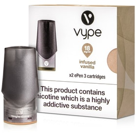 Infused Vanilla ePen 3 Prefilled Vape Pod by Vype 2ml