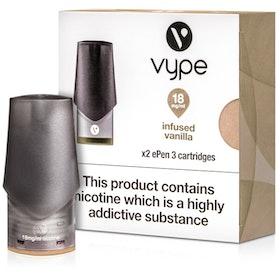 Infused Vanilla ePen 3 Prefilled Vape Pod by Vype 2ml