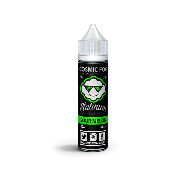 Sour Melon E-Liquid By The Platinum Collection 50ml 0mg