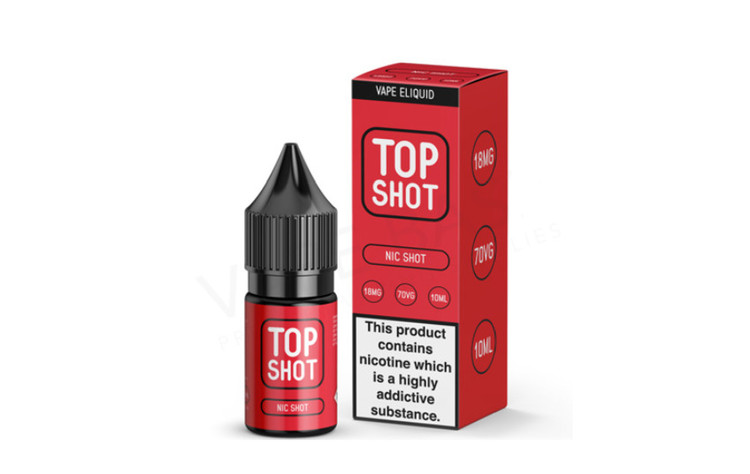 Top Shot Nikotin Shot 70VG 10ml 18Mg