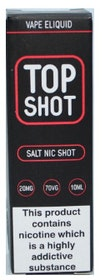 Top Shot Salt Nic Shot 10ml 20mg 70%VG