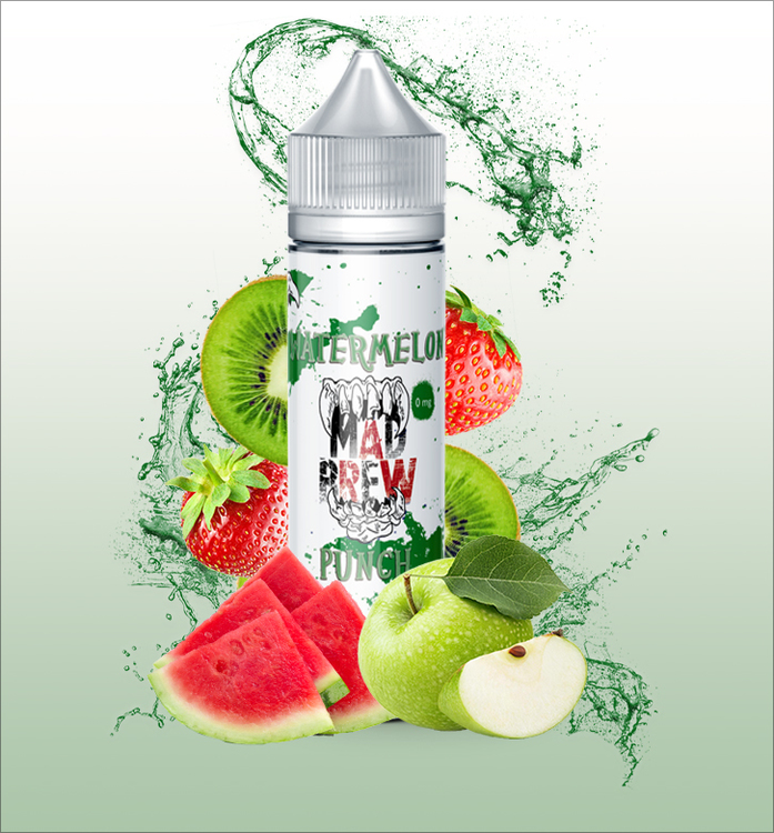 Watermelon Punch e-juice ifrån Mad brew liquids