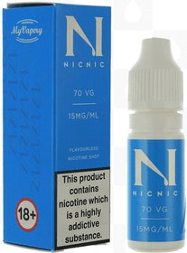 NicNic nikotinshot 10ml 15mg