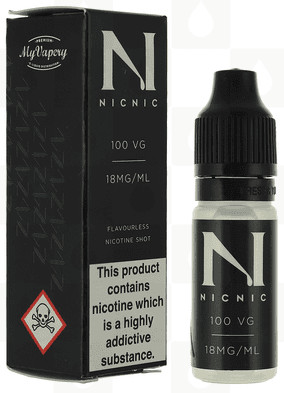 NicNic 10ml 100%VG 18mg