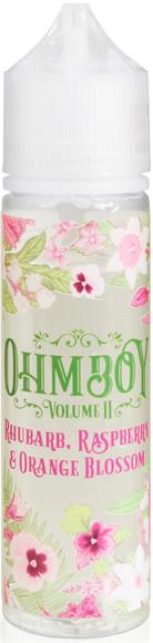 Ohm Boy Vol II Rhubarb, Raspberry & Orange Blossom 50ml 0mg