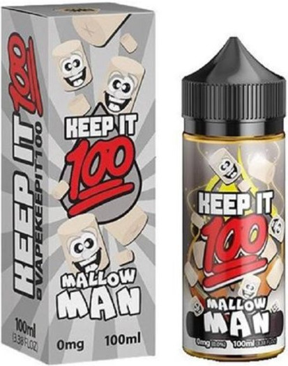 Keep it 100 Mallow Man 100ml 0mg
