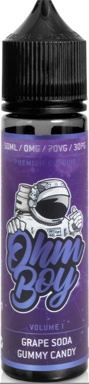 Grape Soda Gummy Candy Ohm Boy 50ml 0mg
