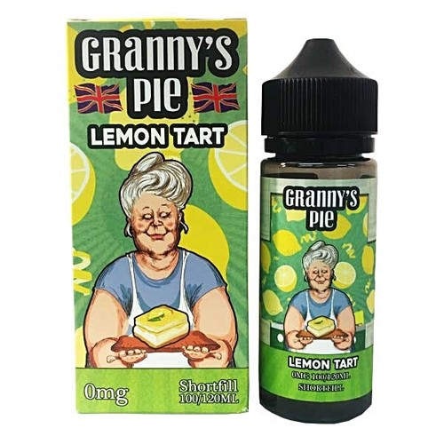 Tasty Flavors-Granny´s Pie Lemon Tart 100ml 0mg