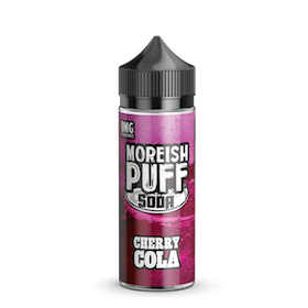 Moreish puff Soda Cherry Cola 100ml 0MG