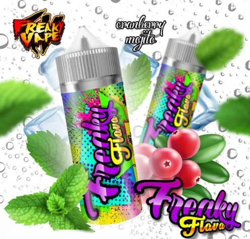 Freaky Flava Cranberry Mojito 50ml 0mg e-juice ejuice vejpkungen
