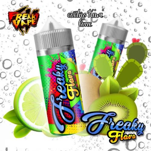 Freaky Flava Cactus Kiwi Lime 50ml 0mg e-juice ejuice vejpkungen