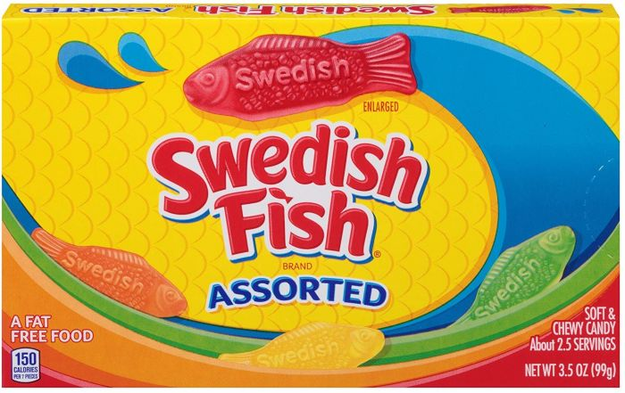 Swedish Fish assorted box 99 g