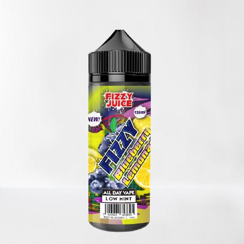 E-juice Fizzy Blueberry Lemonade-Mohawk & Co 100 ml 0mg vejpkungen