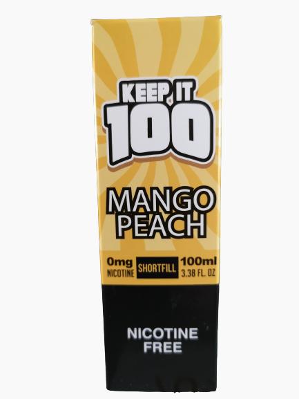 Keep it 100 Mango Peach 100ml 0mg