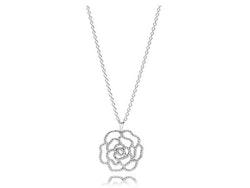 Shimmering Rose Pendant