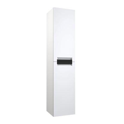 KORSBAKKN Slate2 120 møbelsett hvit. Komplett med høyskap og speil