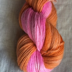 Milla Rauma Gammelserie - Orange & Pink 100 g