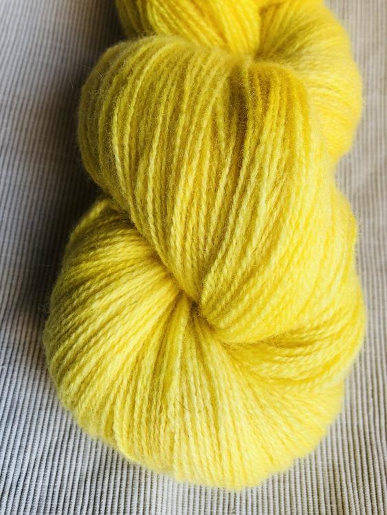 Milla Rauma Lammull - Sunny Lemons 100 g