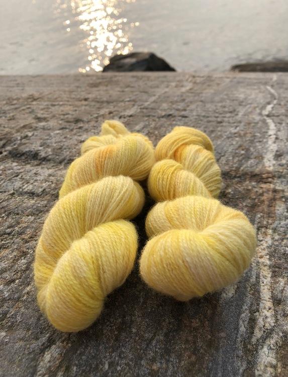 Milla Rauma Lammull - Sunny Lemons 50 g