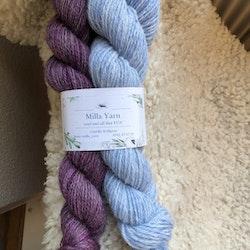 Milla Gray Pink -  Vanten Vinterfröjd 100 g