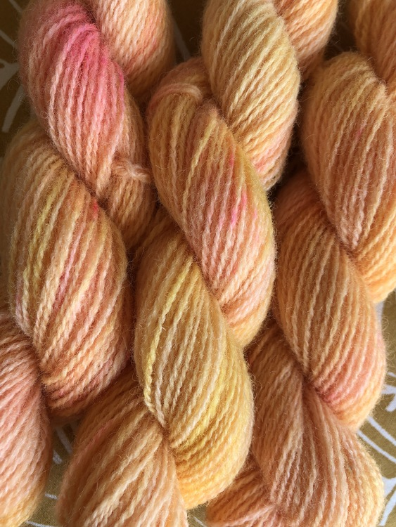 Milla Rauma Lammull Minis - Pink Sunshine 25 g