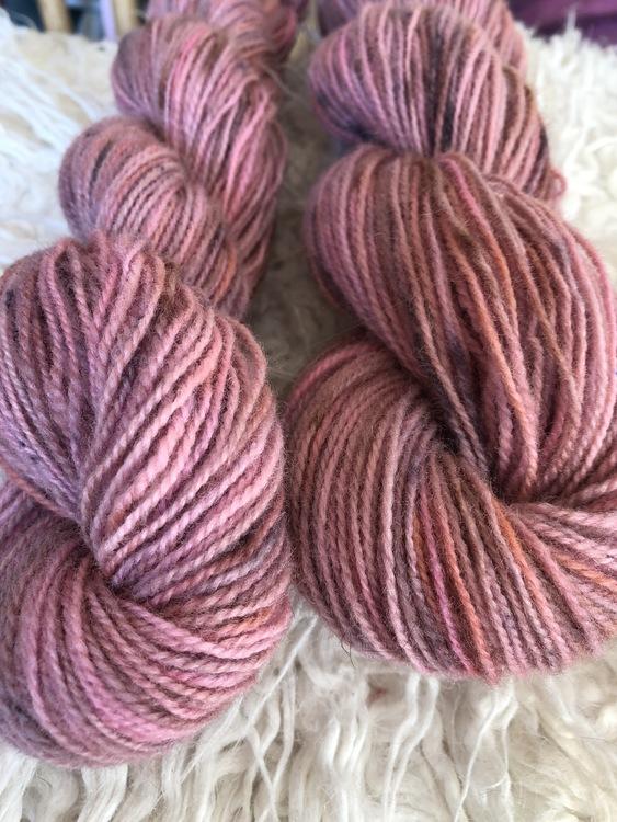 Milla Rauma Gammelserie - Gray Pink 50 g