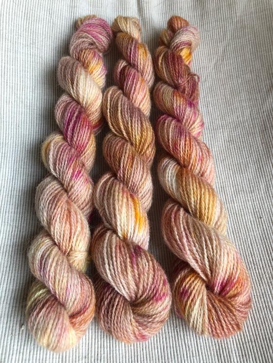 Milla Rauma Lammull Minis - Dusty Rose 20 g