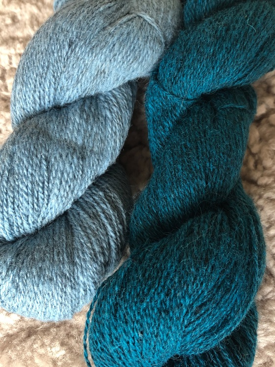 Milla Öland Sport - Dala Blue On Gray  100 g