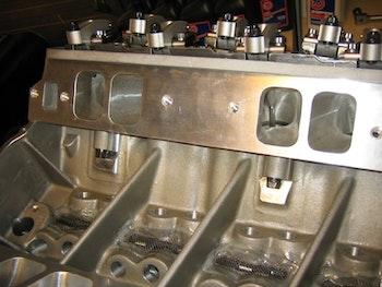 AFR topplock 357cc, CNC-portade