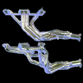 TTI step-headers för Mopar SB, W2 toppar, cheramisk coating, A-body