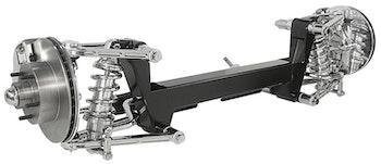 Kugel Komplett individuell framvagn rostfria gjutna bärarmar
