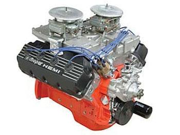 528 Hemi Cratemotor, 640 hk