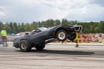 Sidepipes headers Corvette Bigblock
