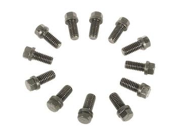 MRG-915, Headersbult, 3/8UNC, Svartoxid, 6-kants 7/16 skalle