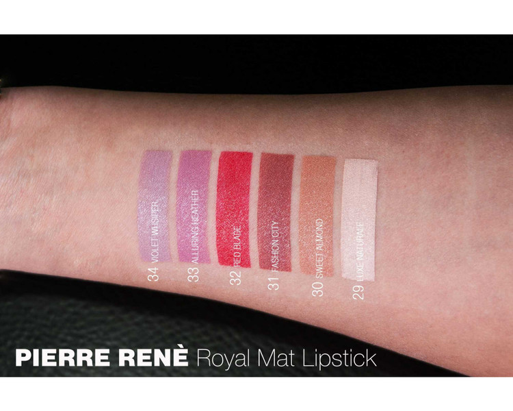 Pierre René Royal Mat Lipstick 36 Hand Touch