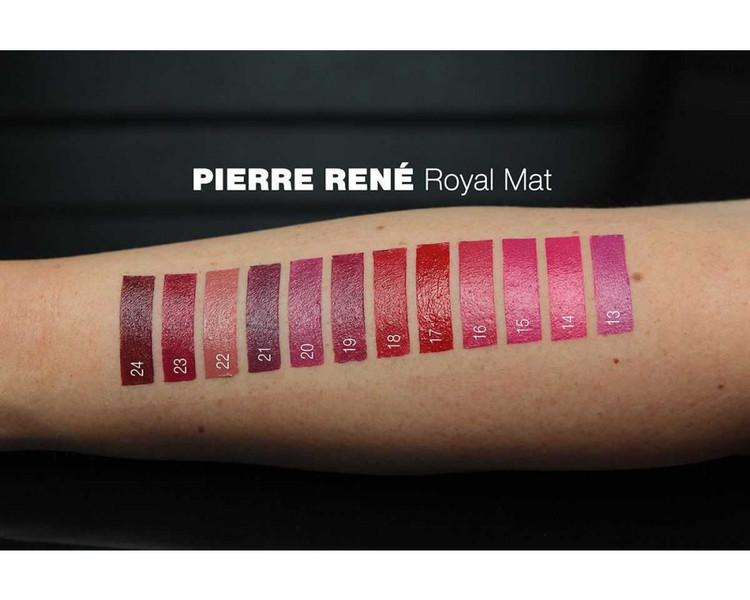Pierre René Royal Mat Lipstick 21 Elegance Plum