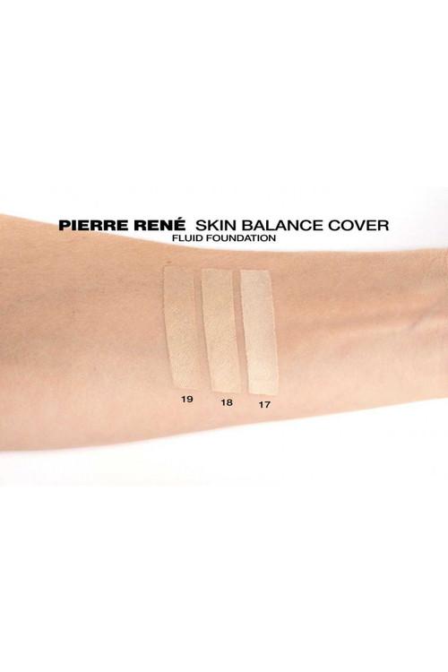 Pierre René Foundation Skin Balance 18 Warm Ivory
