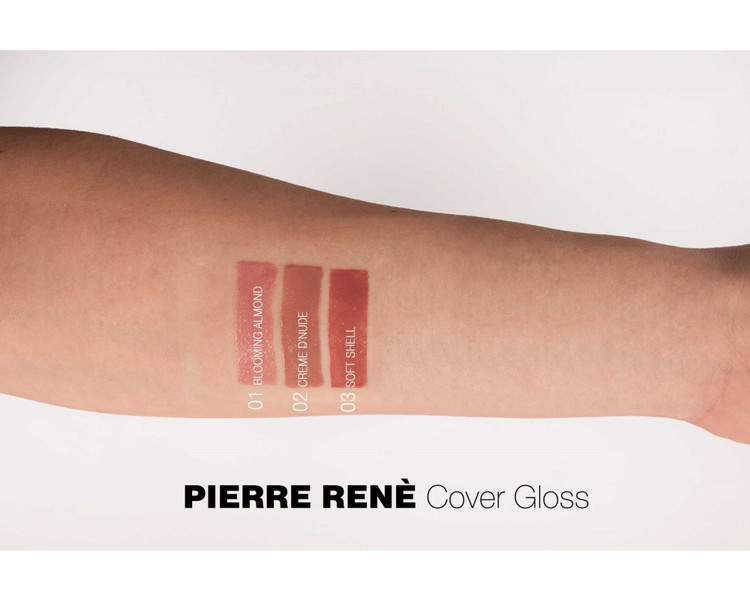 Pierre René Cover Gloss 01 Blooming Almond