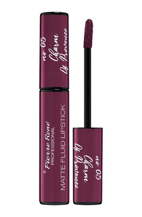 Pierre René Royal Matte Fluid Lipstick 05 Charm of Provence