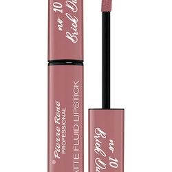 Pierre René Royal Matte Fluid Lipstick 10 Brick Dust